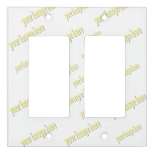 blank templates wall plates light switch covers zazzle