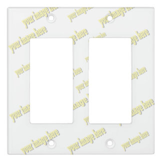 Homeowner Create Your Own Blank Template Light Switch Cover