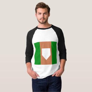 homeplate Men's Basic 3/4 Sleeve Raglan T-Shirt