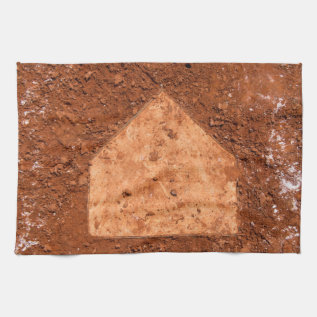 Homeplate Towel at Zazzle