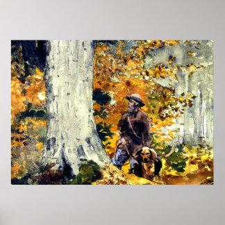 Homer - Adirondack Woods Poster