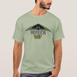 Homer Alaska - Airport Runway T-Shirt