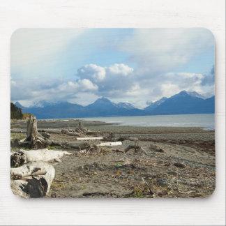 Homer Alaska Beach Mouse Pad