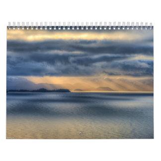 Homer Alaska Photo Wall Calendar 2013