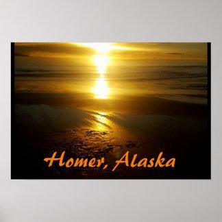 Homer, Alaska Poster