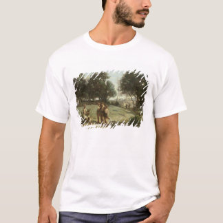 Homer and the Shepherds in a Landscape, 1845 T-Shirt