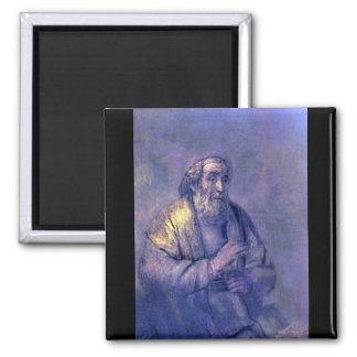 Homer by Rembrandt Harmenszoon van Rijn Refrigerator Magnet