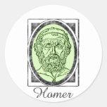 Homer Classic Round Sticker