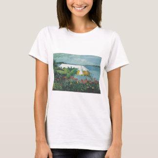 Homer Flower Garden and Bungalow T-Shirt