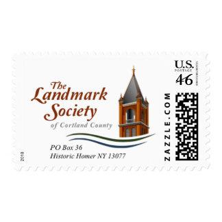 Homer Landmark Society of Cortland County Stamp