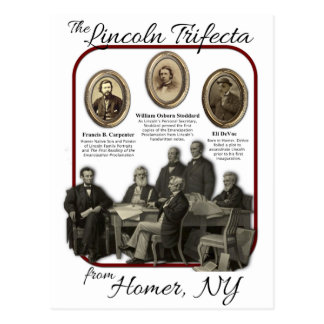 Homer s Lincoln Trifecta Postcards