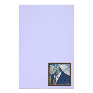 Homer Suit Framed Stationery