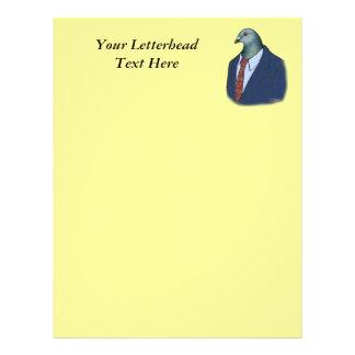 Homer Suit Letterhead