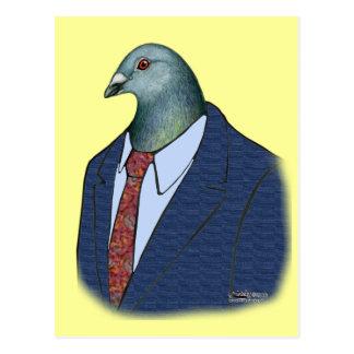 Homer Suit Postcard