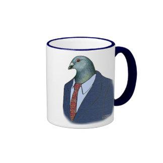 Homer Suit Ringer Coffee Mug