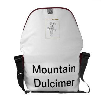 Homer the Dulcimer's Mountain Dulcimer Bag Commuter Bags