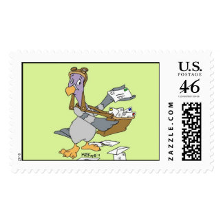 Homer the Homing Pigeon Postage