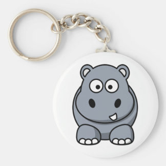 Homer the Huge Hippo Keychain