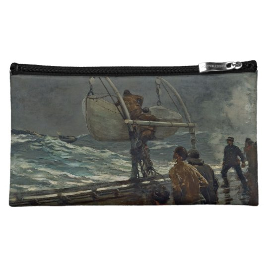 Homer Winslow Art Work Cosmetic Bag