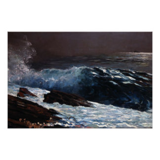 Homer Winslow Art Work Poster