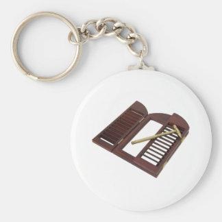 HomeRepairsA060709 Basic Round Button Keychain