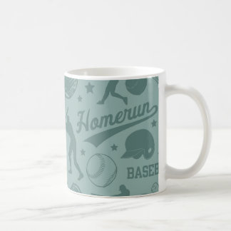 Homerun Baseball Coffee Mug