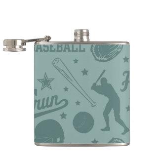 Homerun Baseball Flask