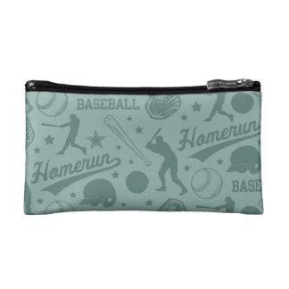 Homerun Baseball Makeup Bag