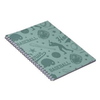 Homerun Baseball Notebook