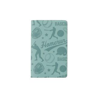 Homerun Baseball Pocket Moleskine Notebook
