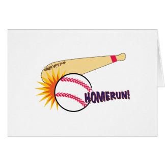 Homerun! Greeting Card