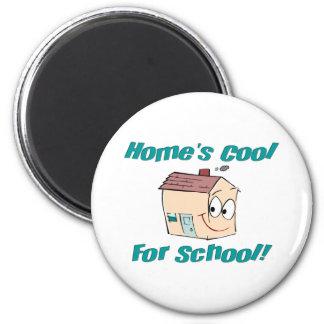 Home's Cool Fridge Magnet