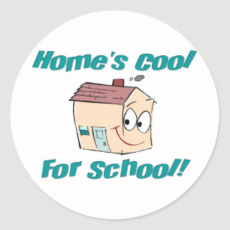 Home's Cool Sticker