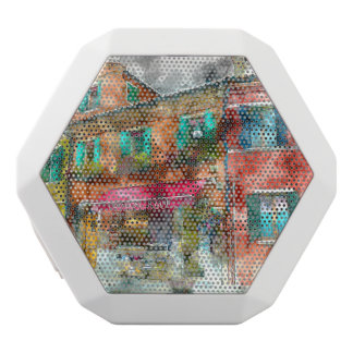 Homes in Burano Italy near Venice White Bluetooth Speaker