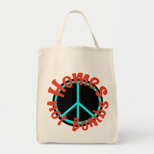 Homes not Bombs Tote Bag