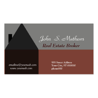 HomeSales Realtor Classy Business Card Template