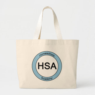 Homeschool Academy Large Tote Bag