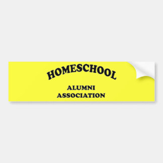 Homeschool Alumni Bumper Sticker