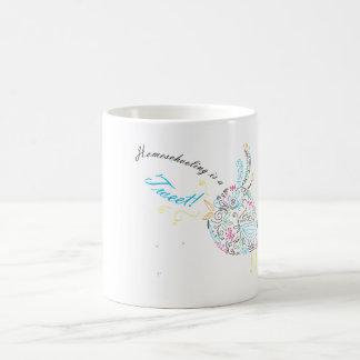 Homeschool Bird Coffee Cup Classic White Coffee Mug