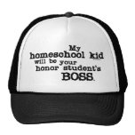 Homeschool Boss Gorros Bordados