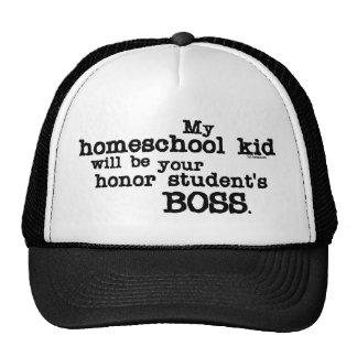 Homeschool Boss Trucker Hats