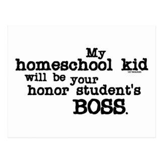 Homeschool Boss Postcard