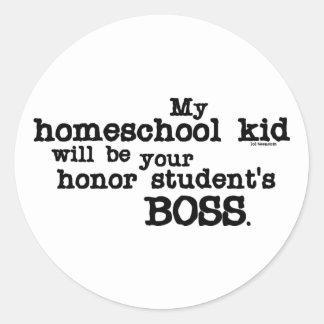 Homeschool Boss Stickers