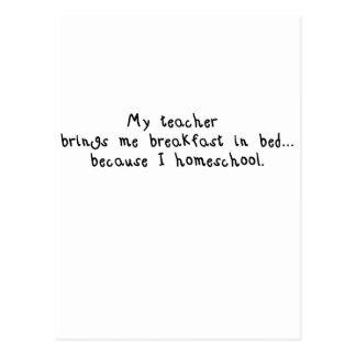 Homeschool breakfast.jpg tarjeta postal