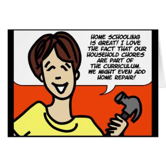 homeschool card
