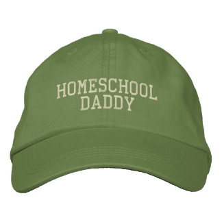 Homeschool Daddy Embroidered Hat
