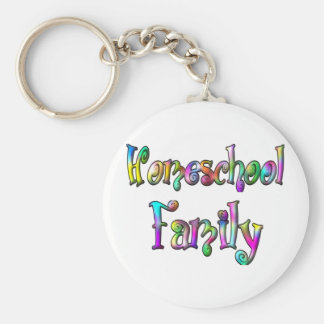 Homeschool Family Keychains