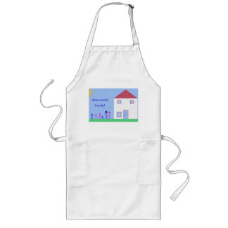 Homeschool Family! Long Apron