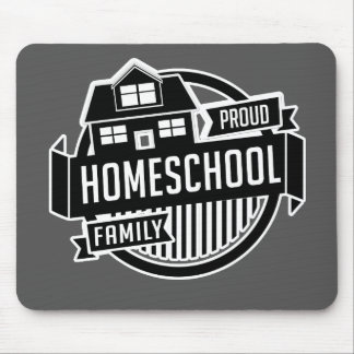 Homeschool Family - Proud Teacher Mousepad