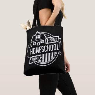 Homeschool Family - Proud Teacher School Tote Bag